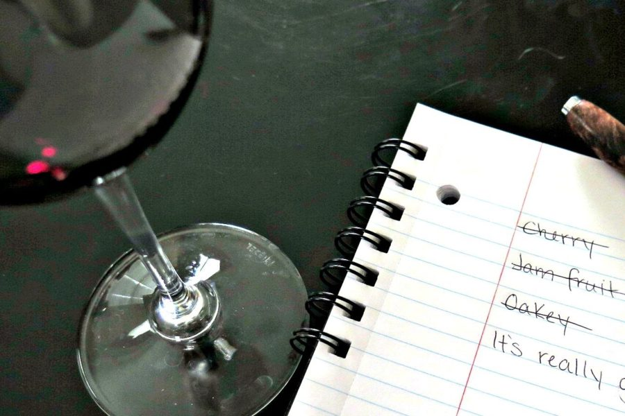 wine-writing