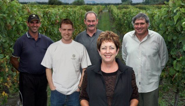 Hunters Wines team