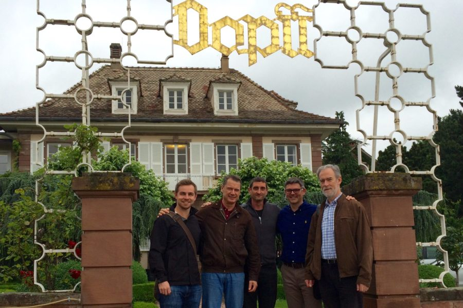 Aussie team at Dopff