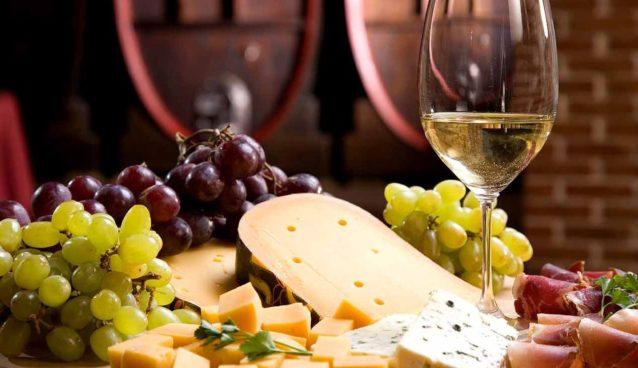 wine and food tasting