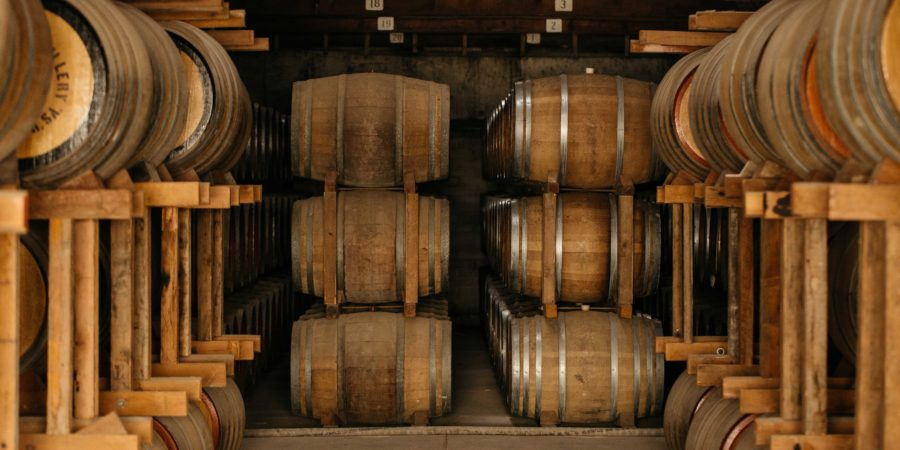 The Angove brandy cellar