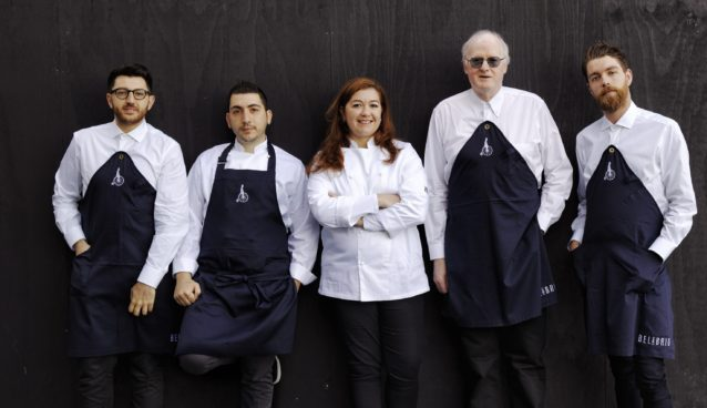 The Bel & Brio team, with Jon Osbeiston (second from the right).