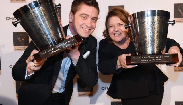 Cameron O'Keefe & Nicky Goodyer (2016 Winners) Vin de Champagne Awards