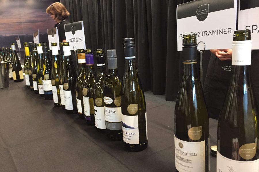 Air New Zealand Wine Awards tasting