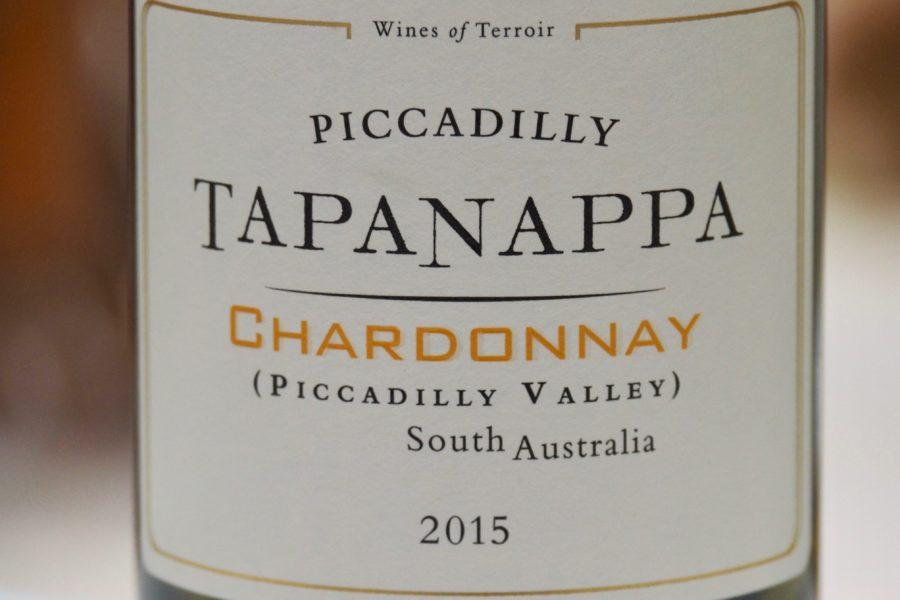 2015 Tapanappa Piccadilly Chardonnay