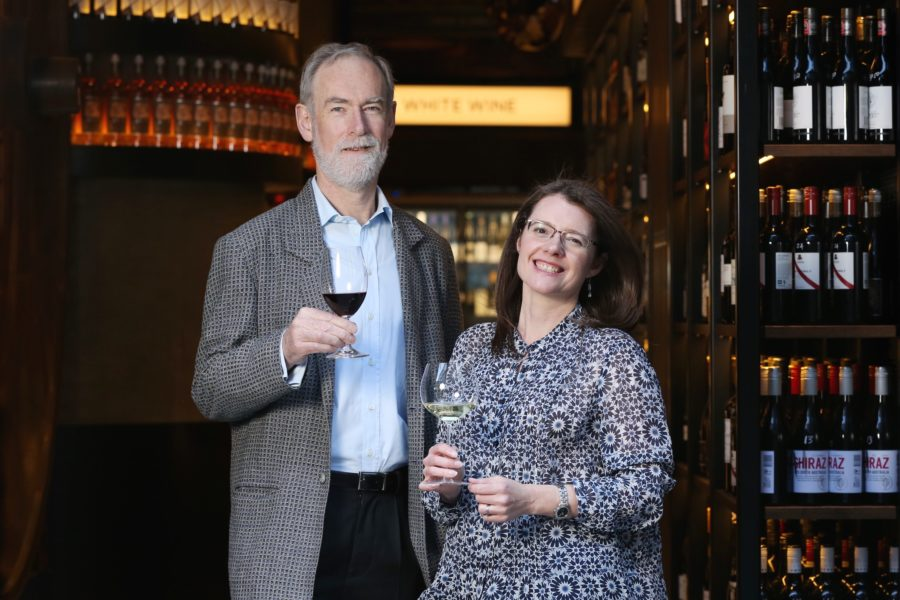 Huon Hooke and Toni Paterson MW