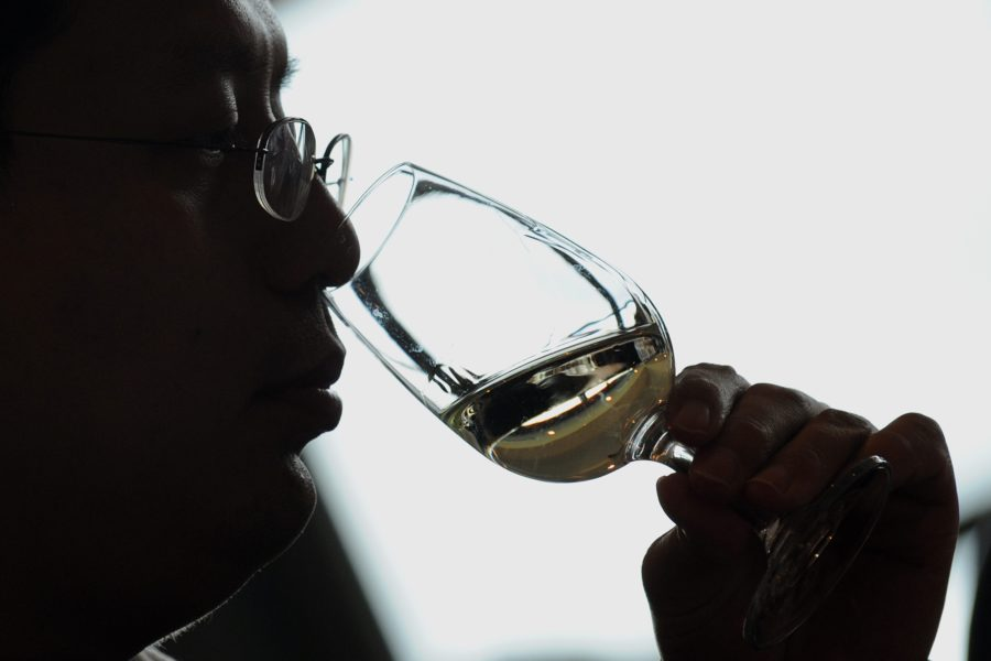 Wine drinking in China