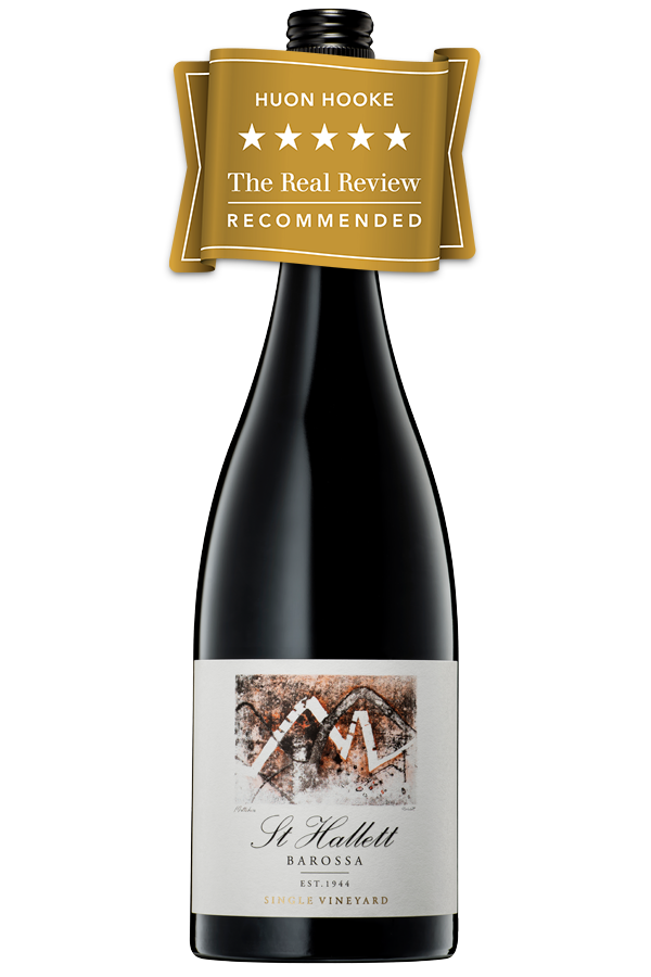 st hallett single vineyard shiraz 2021)